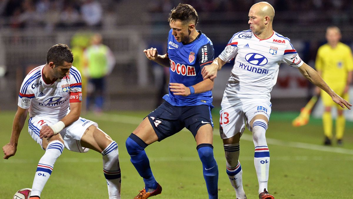 Lyon vs AS Monaco