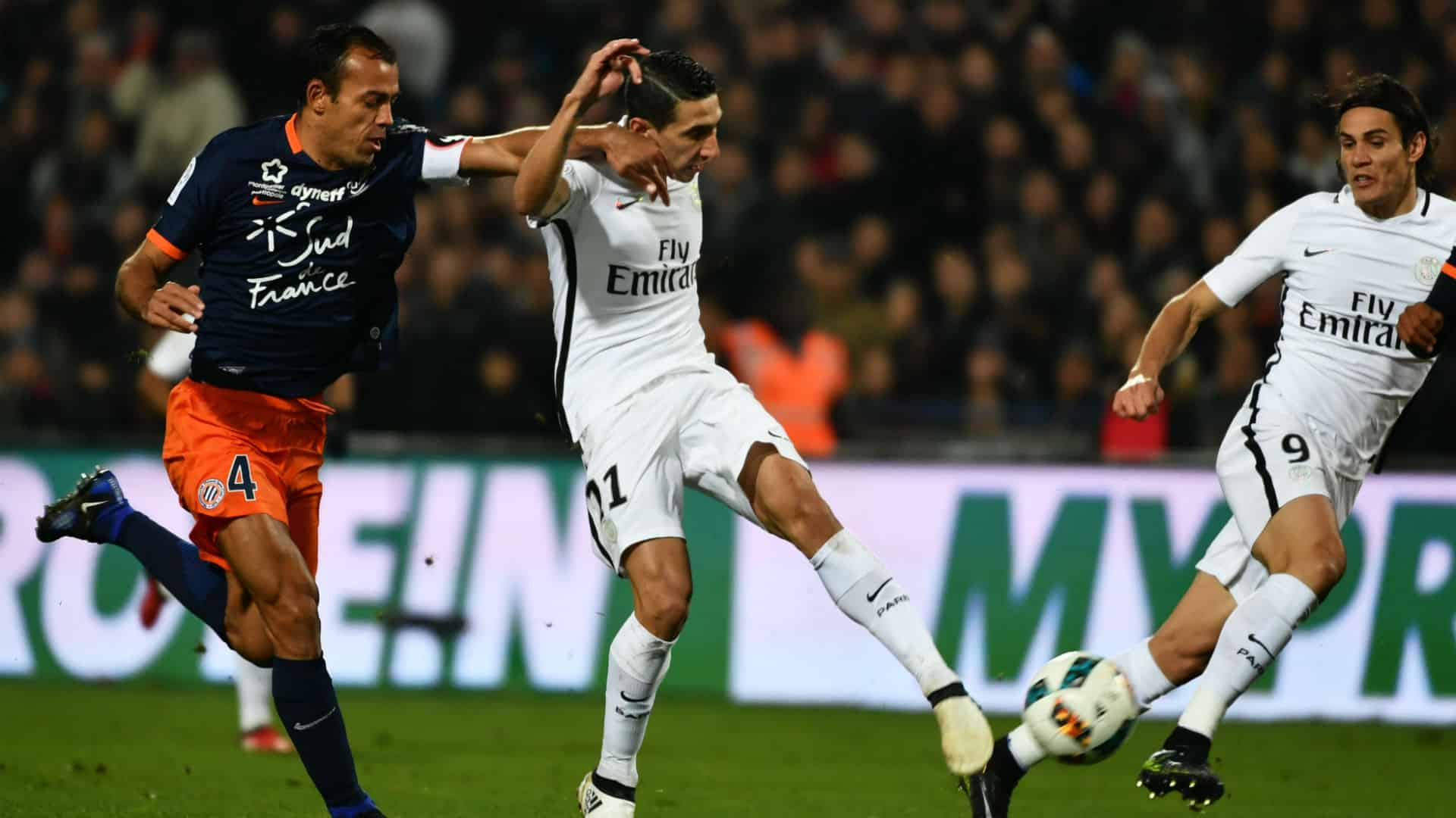 Paris Saint Germain vs Montpellier